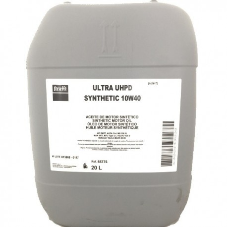 Aceite Krafft Ultra UHPD Synthetic 10W40